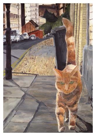[PRINT] ginger cat A3.jpg
